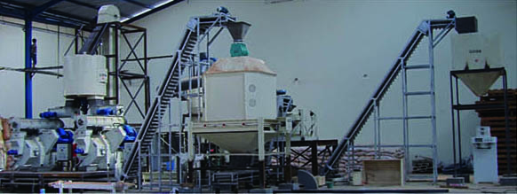 pelletization plant