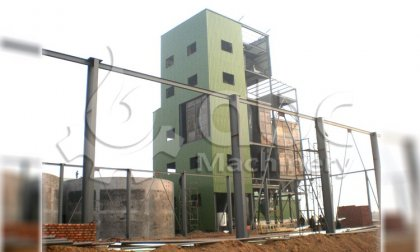 25TPH poultry feed production line