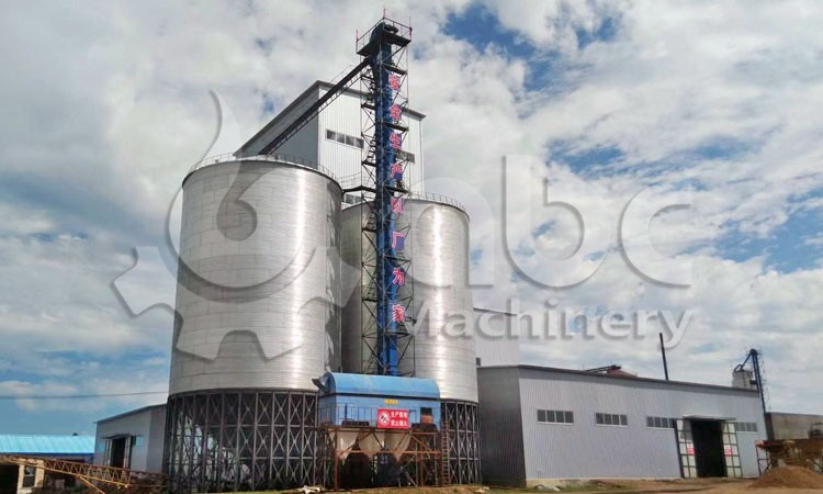 50TPH animal feed manufacturing plant