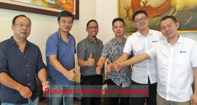 ABC machinery business visit in Indonesian