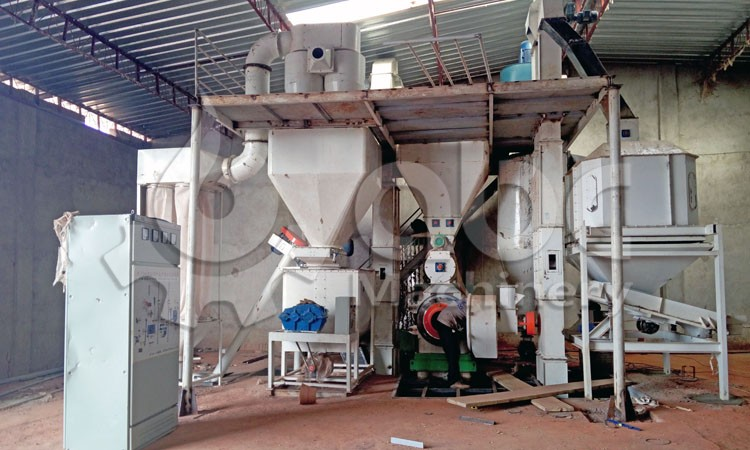 cattle feed pelleting and cooling