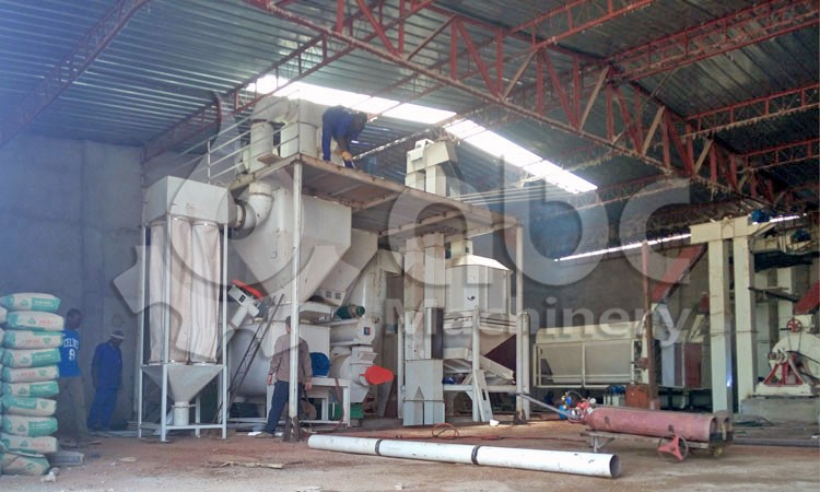 3-5TPH cattle feed pelleting line
