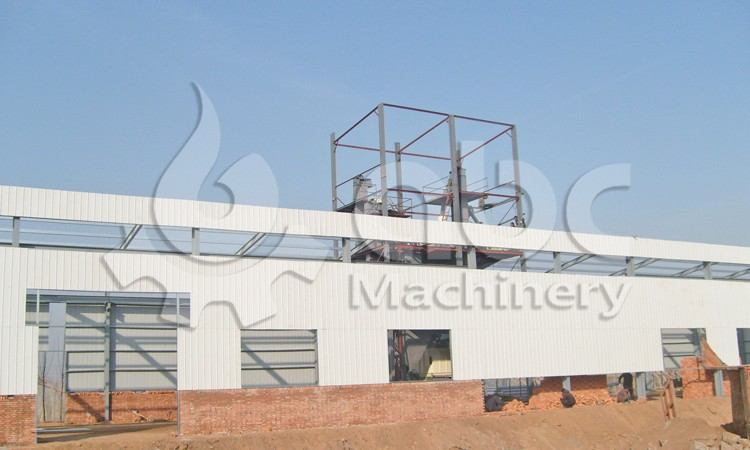 cattle feed plant outview