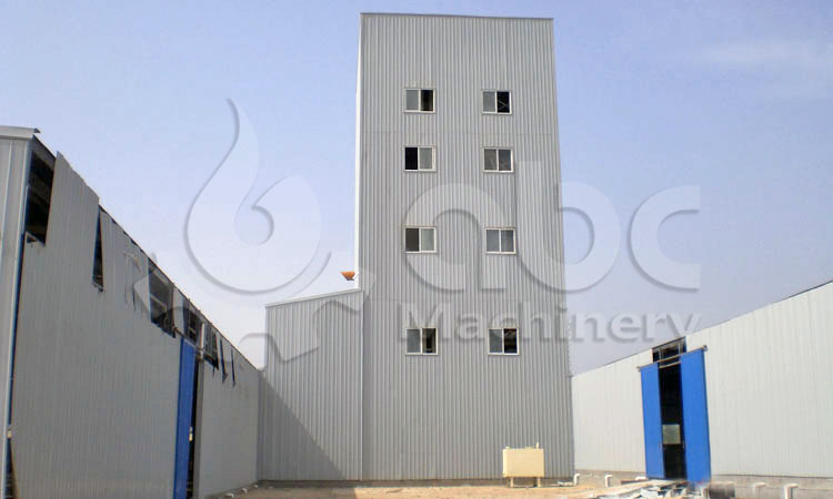 20TPH cattle feed processing plant