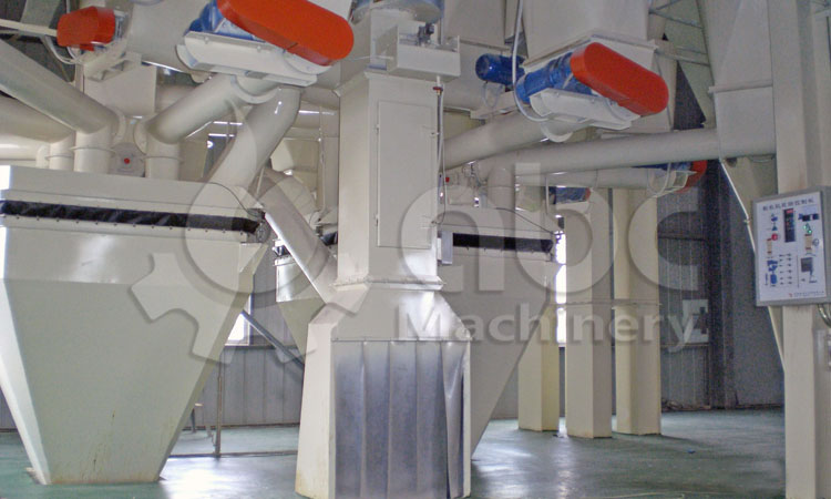 cattle feed processing plant