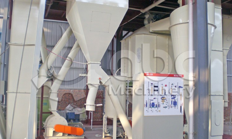 cattle feed production plant