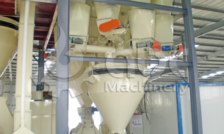 chicken feed plant batching