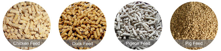chicken duck and pig poultry feed pellet