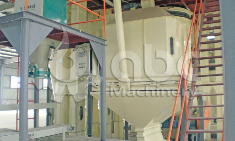 chicken feed plant cooling system
