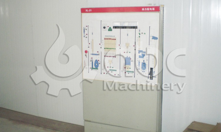 chicken feed plant electric control cabinet