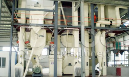 10TPH chicken feed plant