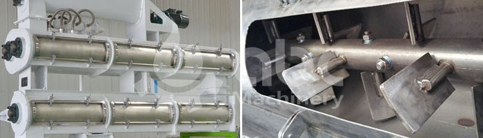 feed mill stainless steel conditioner