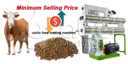 cattle feed making machine price