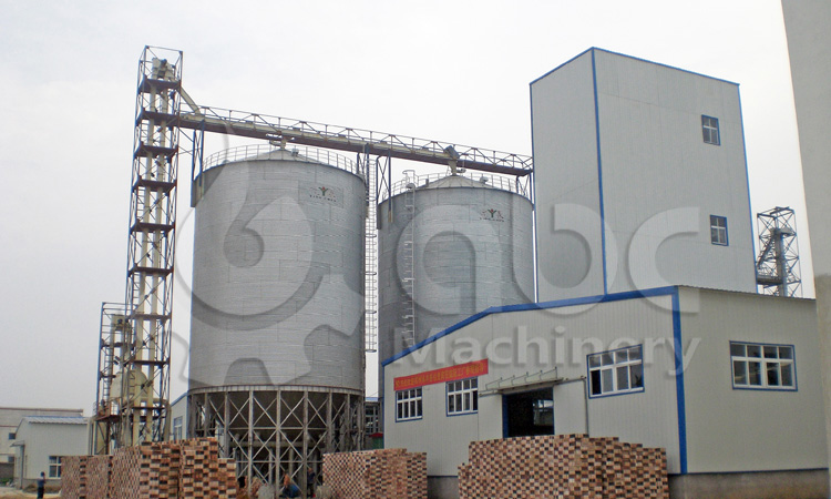 15TPH poultry feed plant project