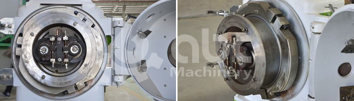ring die pellet mill feeder