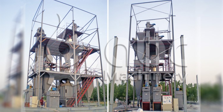 steel structure feed plant design and layout